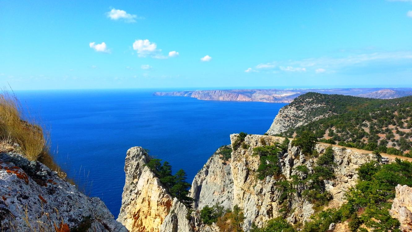 Затерянный мир, мыс Айя, горный Крым