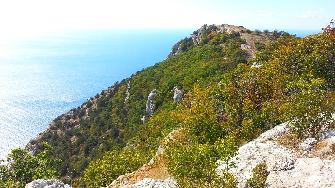Затерянный мир на мысе Айя, горный Крым