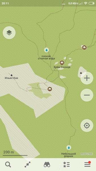 Карты MapsMe