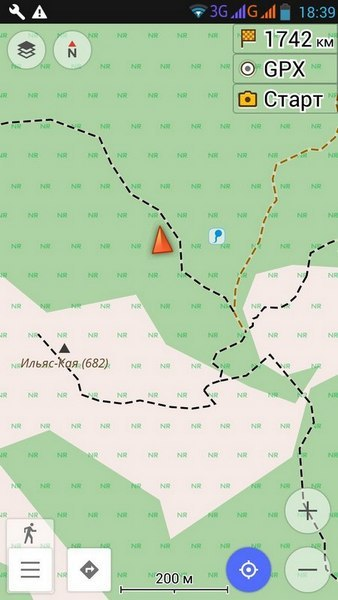 Карты OsmAnd