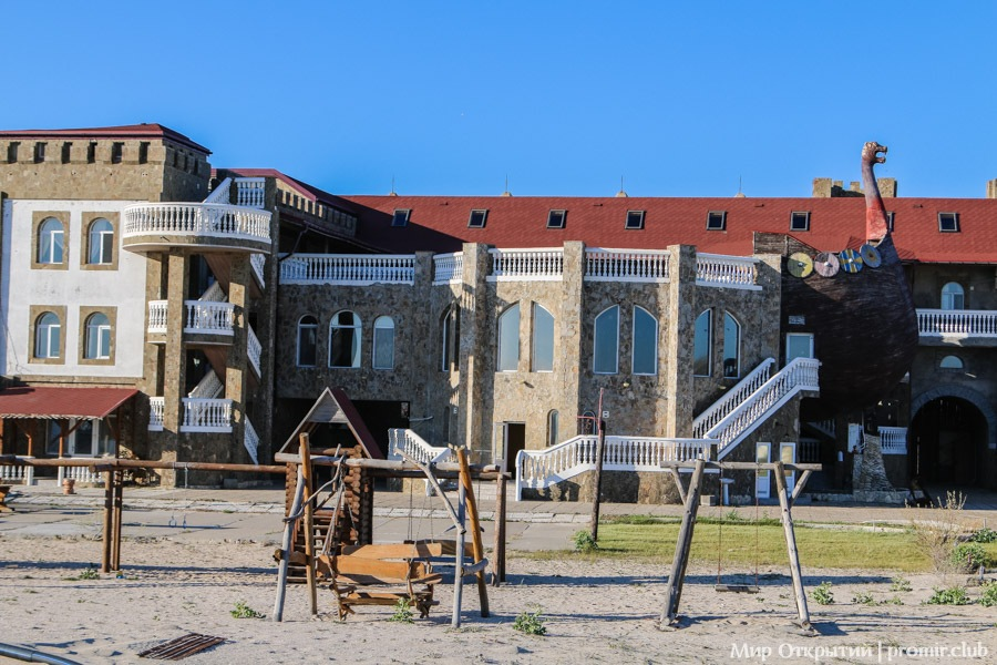 Тарханкут. Дикий запад Крыма. Замок Викинг