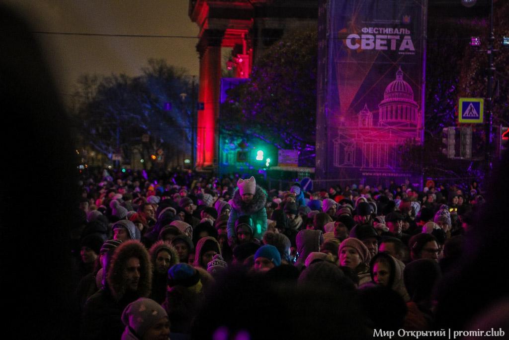Фестиваль Света в Санкт-Петербурге 2016
