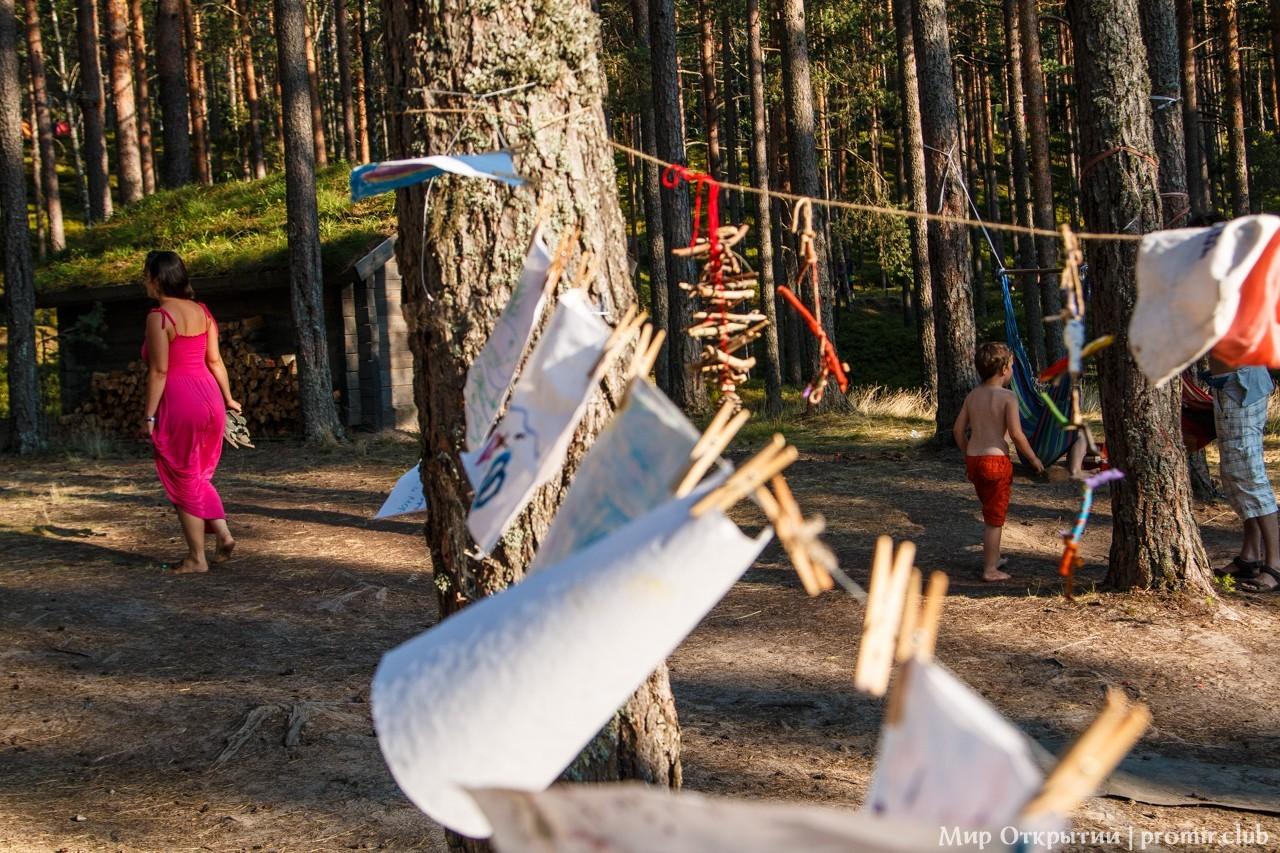 Пространство фестиваля «YogArt», Ленинградская область