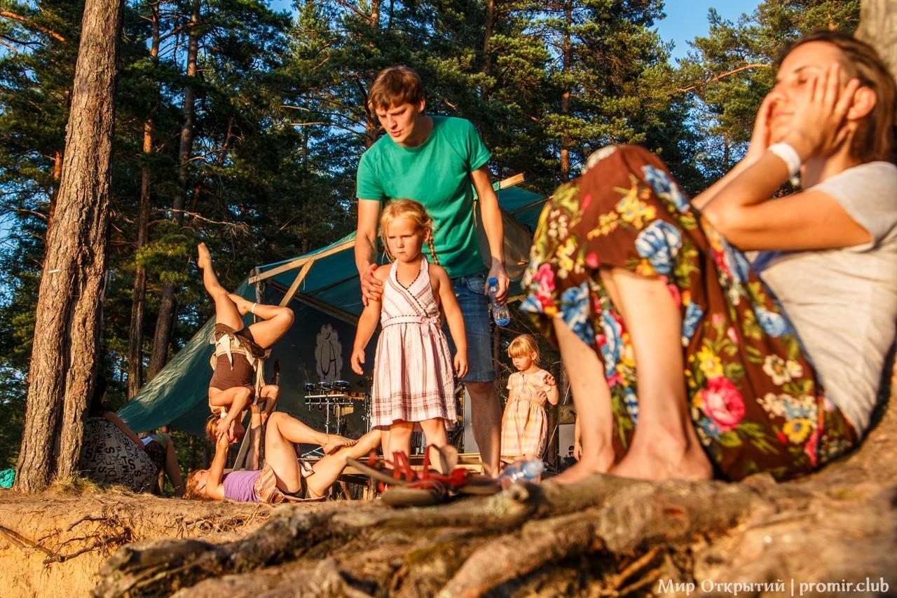 Участники фестиваля «YogArt», Ленинградская область