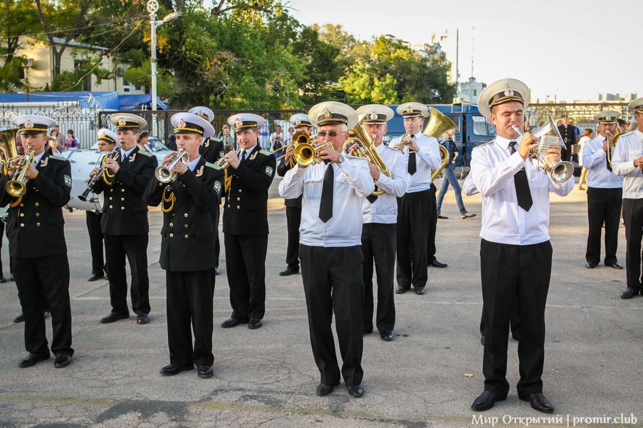 Российский и Украинский военно-морские оркестры, Севастополь