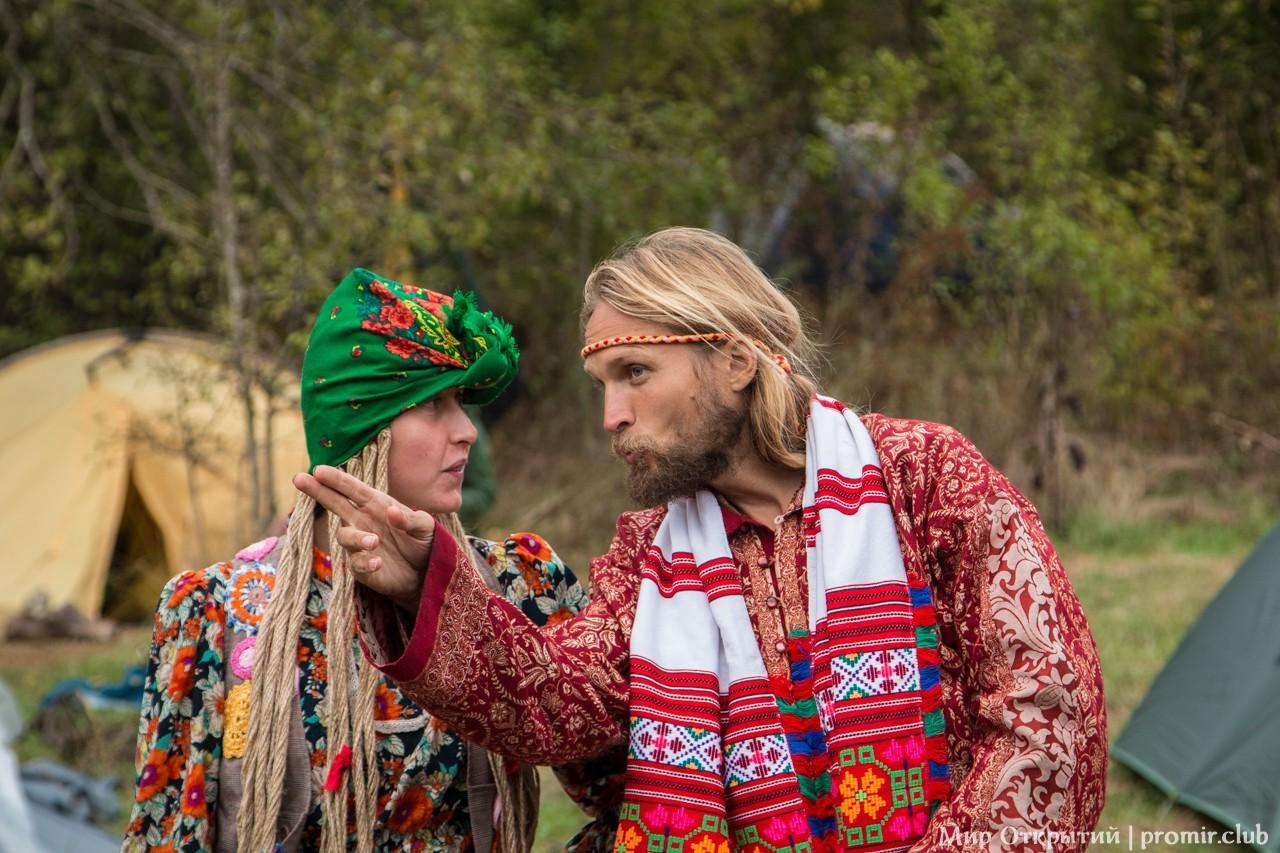 На поляне фестиваля, долина реки Жане, Краснодарский край