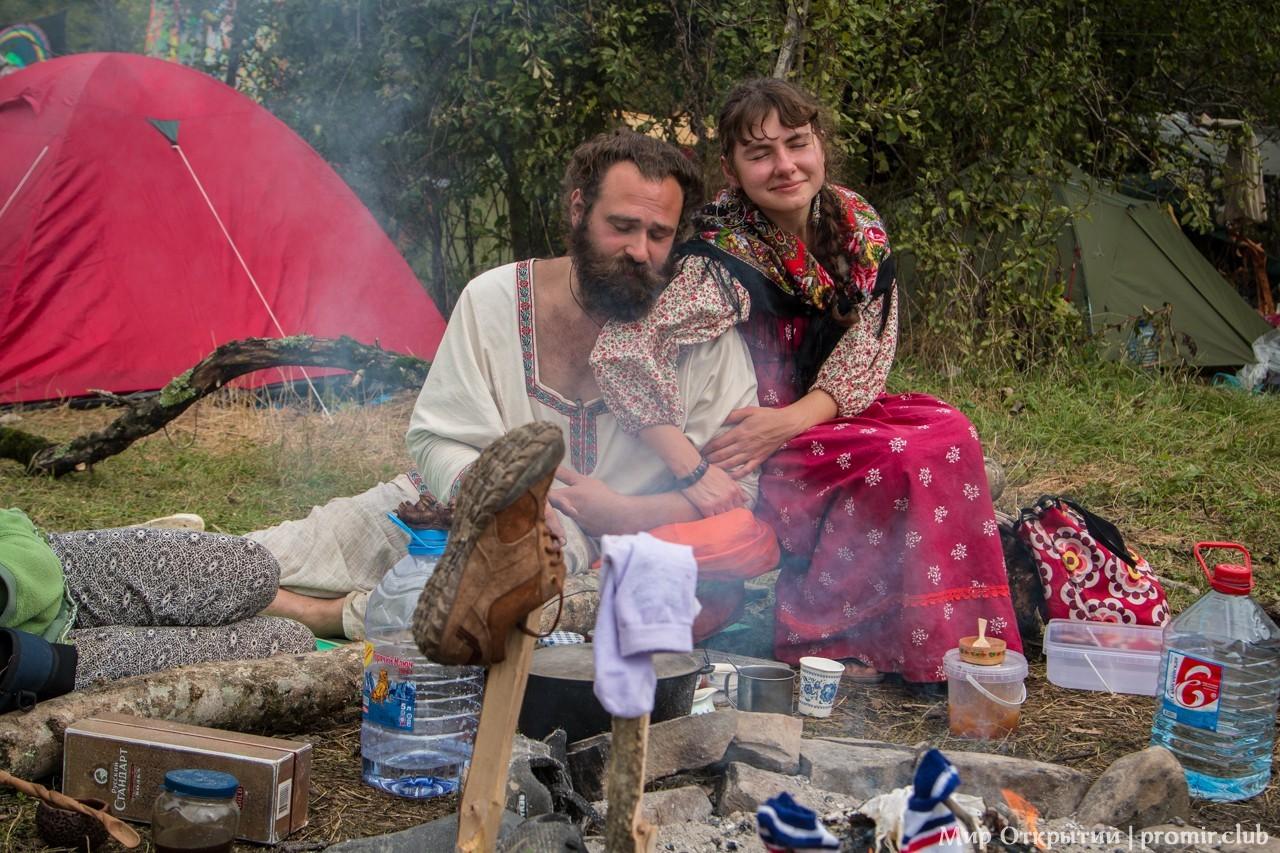 Фестивальный быт, долина реки Жане, Краснодарский край