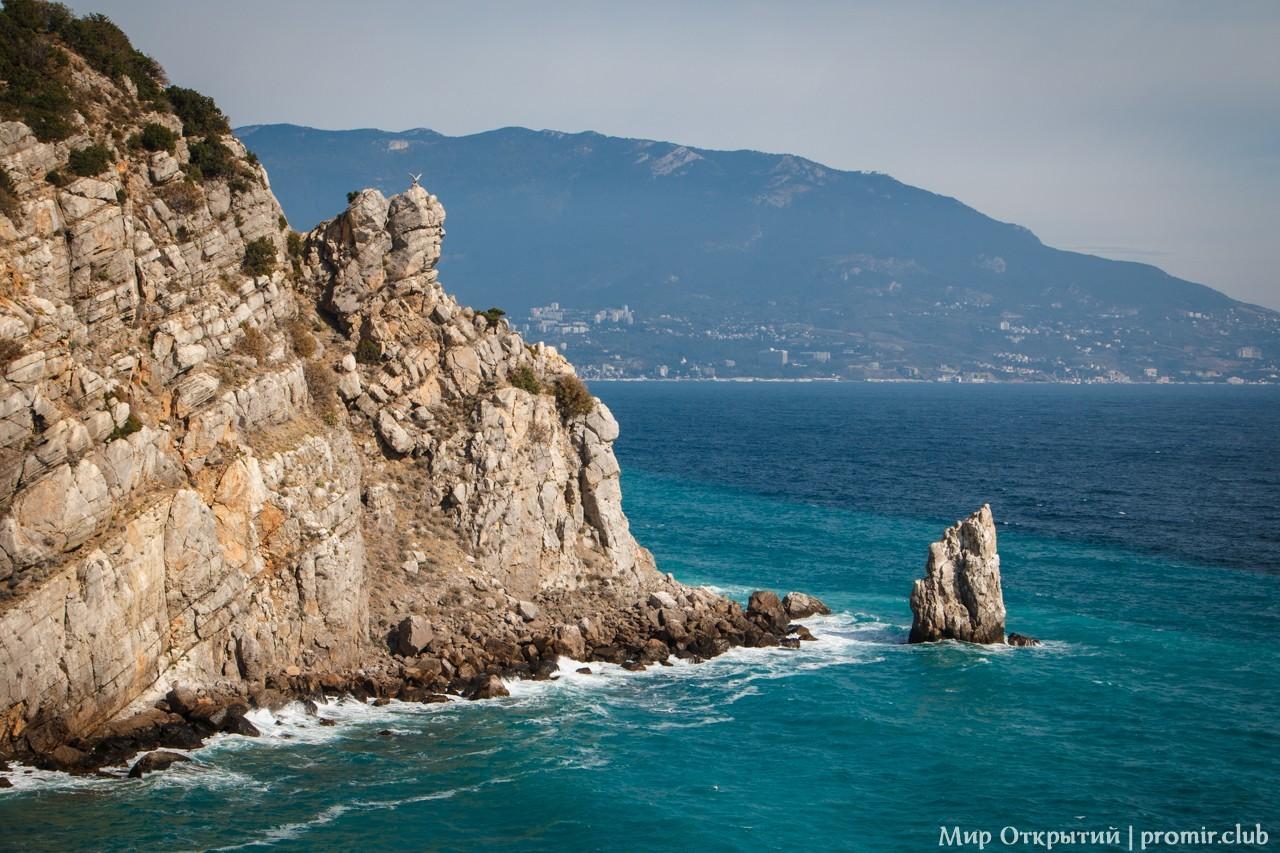 Вид с Ласточкиного гнезда, Крым