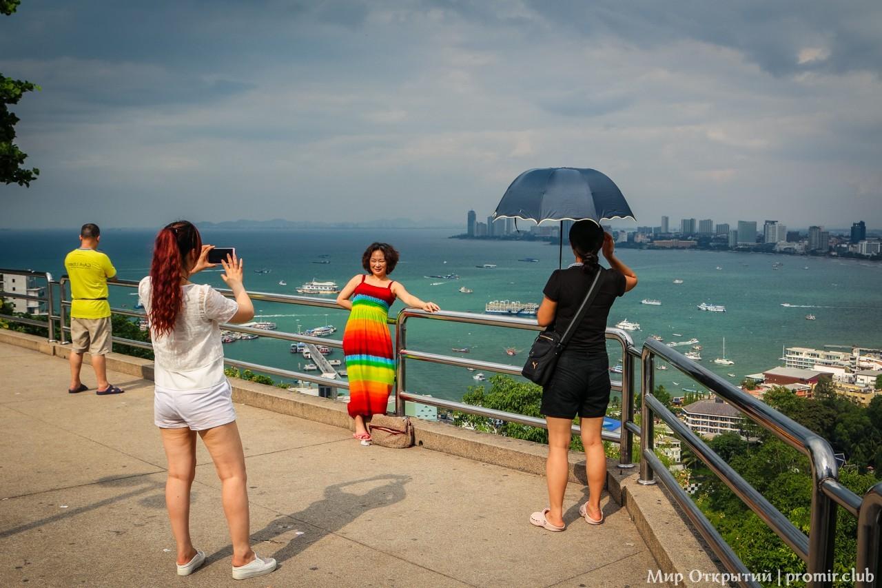 Вид на Сиамский залив и город, Паттайя