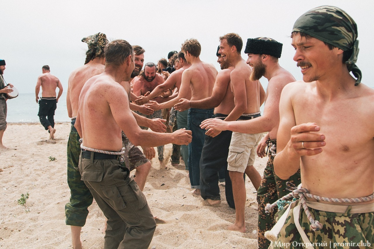 Казачий вар, берег Черного моря, Саки