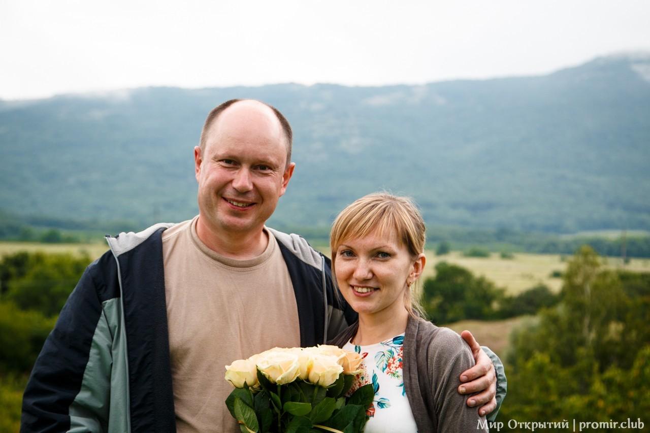 Саша и Катя в усадьбе «Белый остров», Байдарская долина