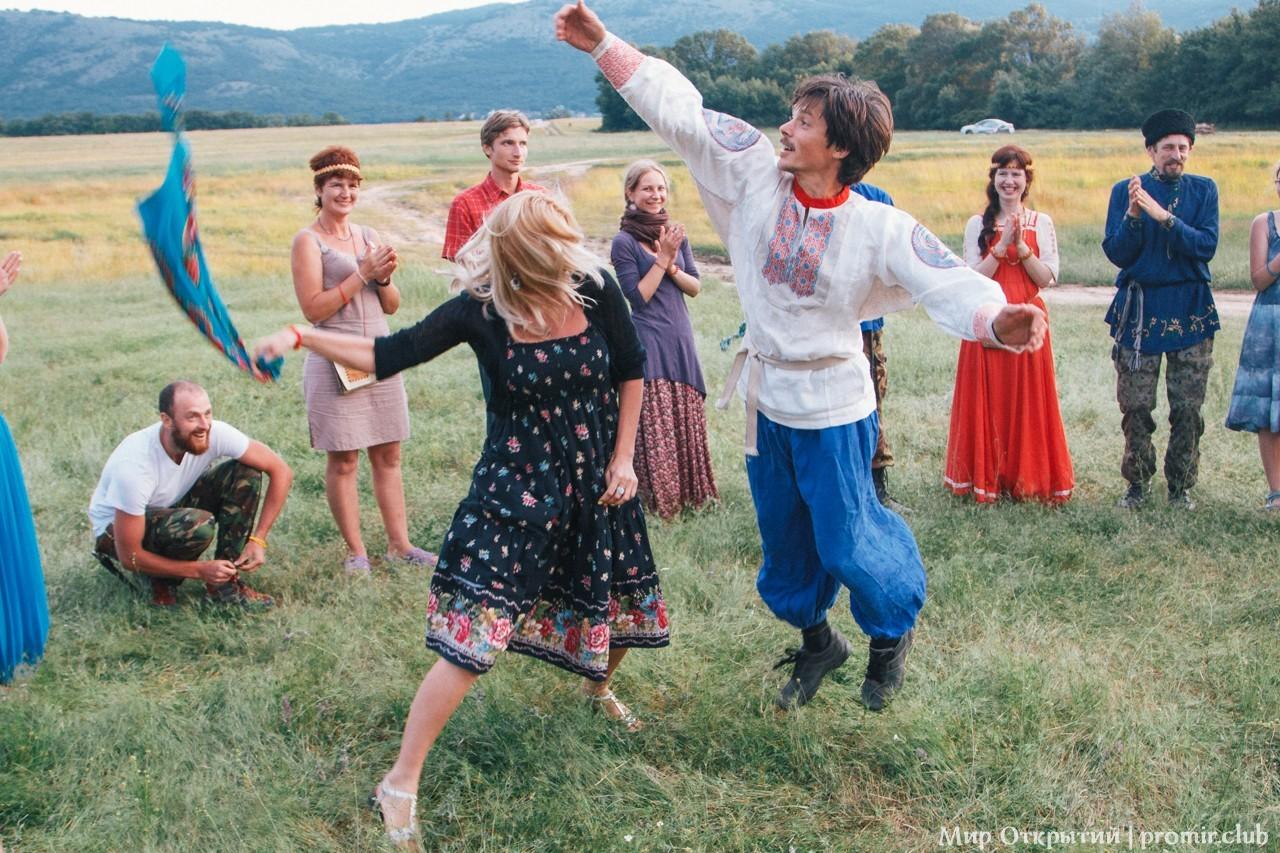 Забавы на празднике «Купальские огни», Байдарская долина