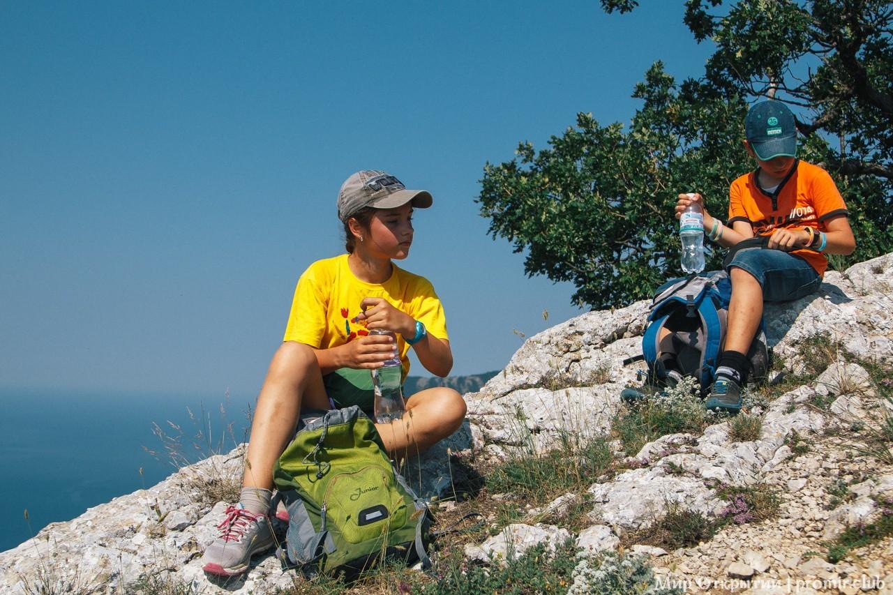 Поход по горам, хребет Каланых-Кая