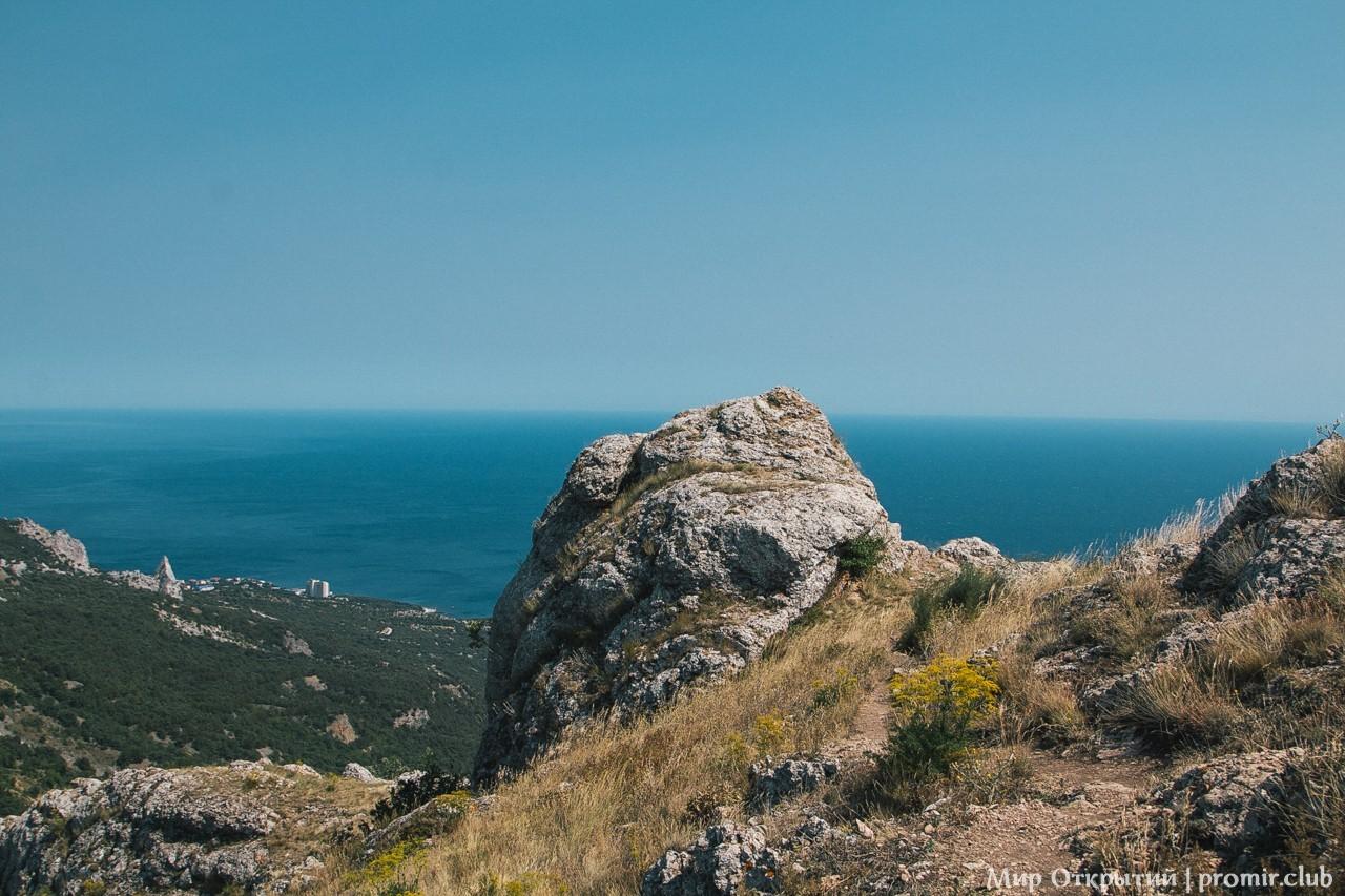 Панорама с горы Ильяс-Кая