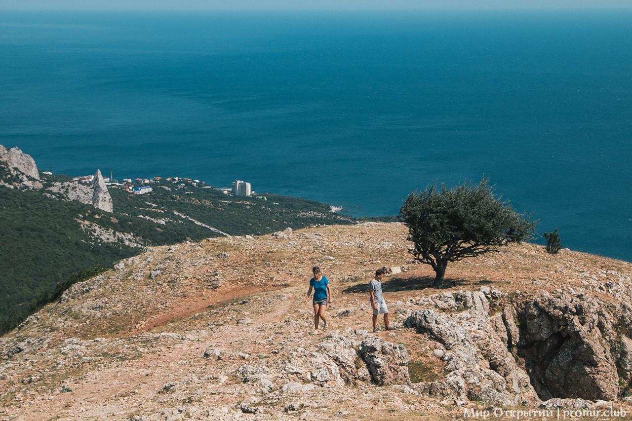 На горе Ильяс-Кая