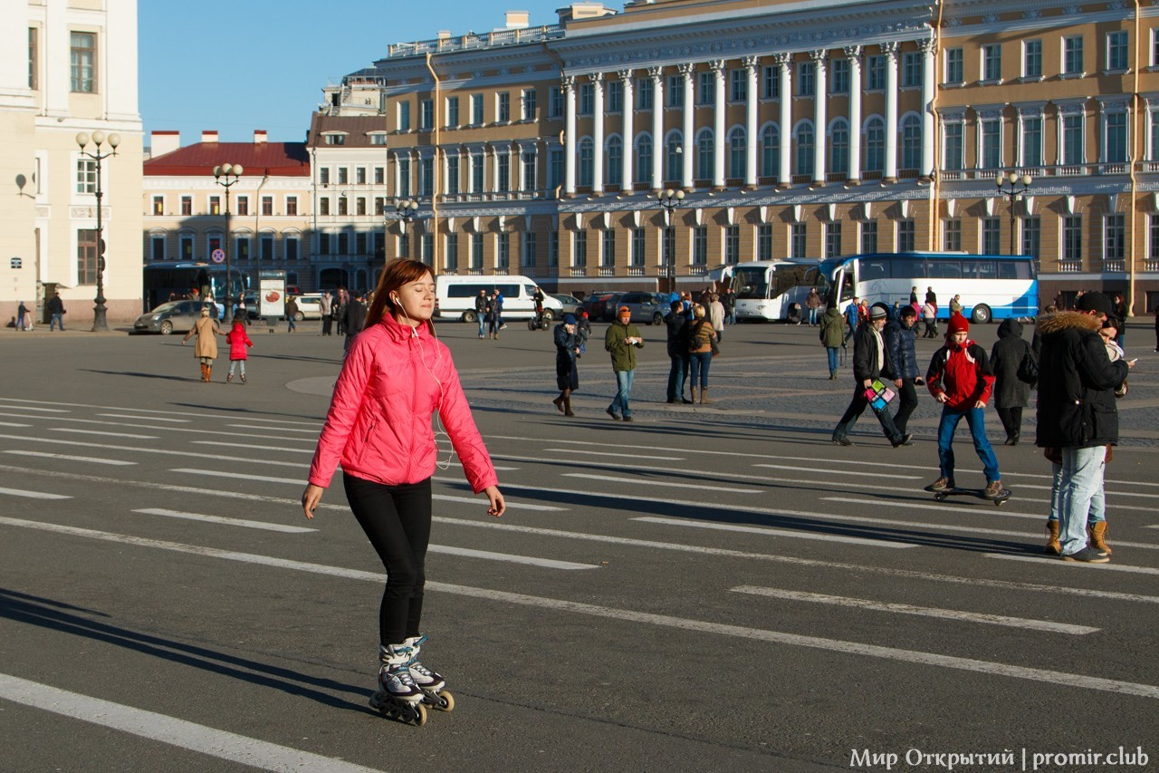 Весна на Дворцовой площади, Санкт-Петербург