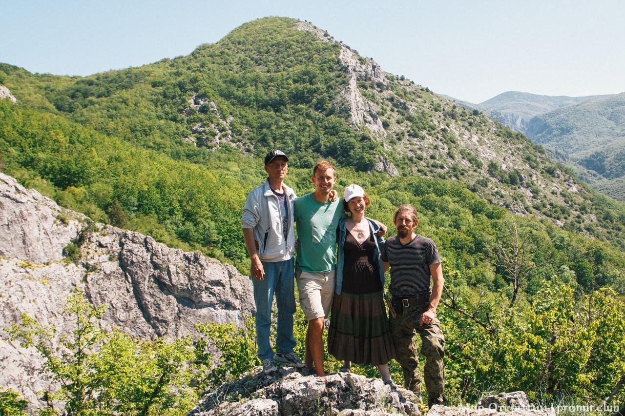 Малый каньон Крыма, горный Крым