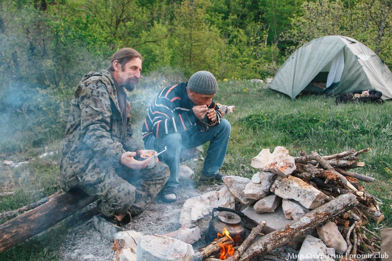 Наш лагерь, Большой каньон Крыма