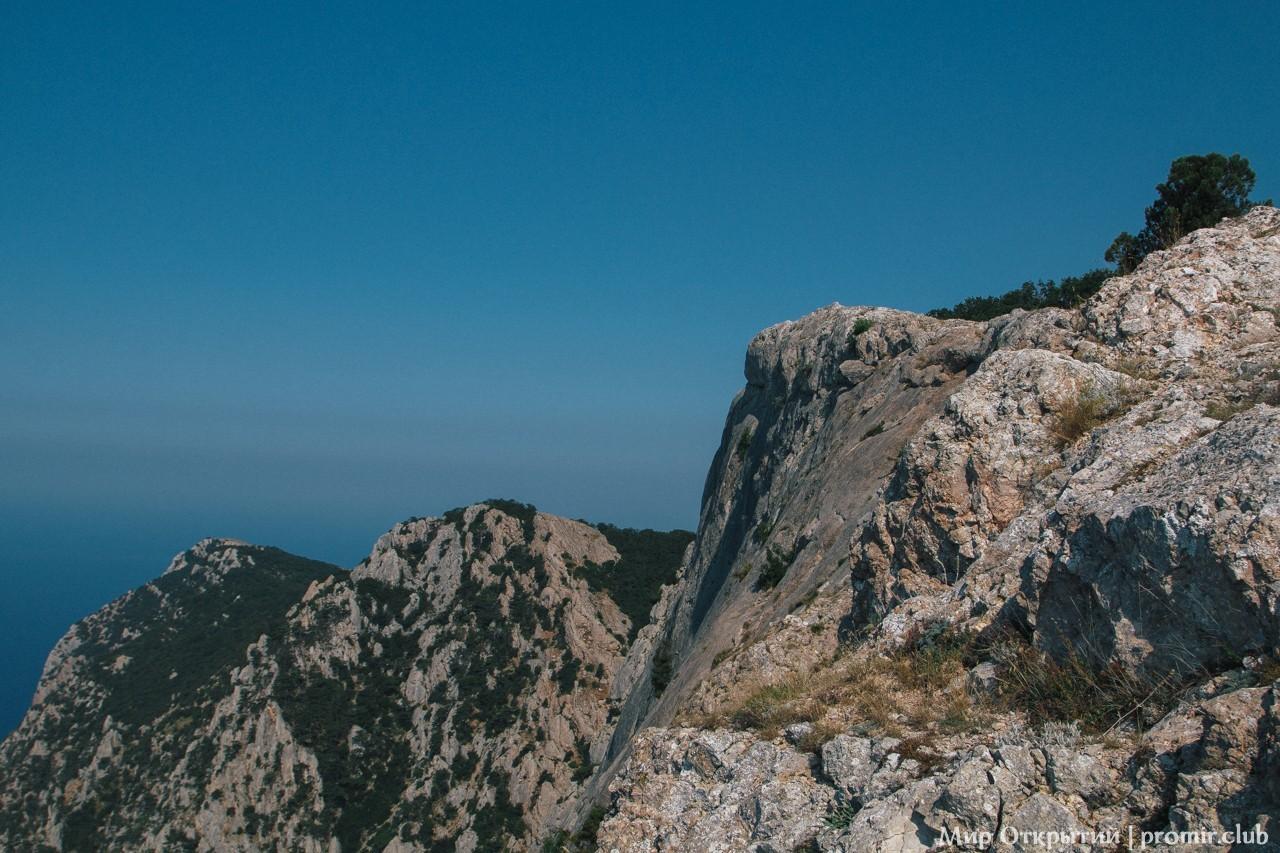 Вид с вершины горы Куш-Кая