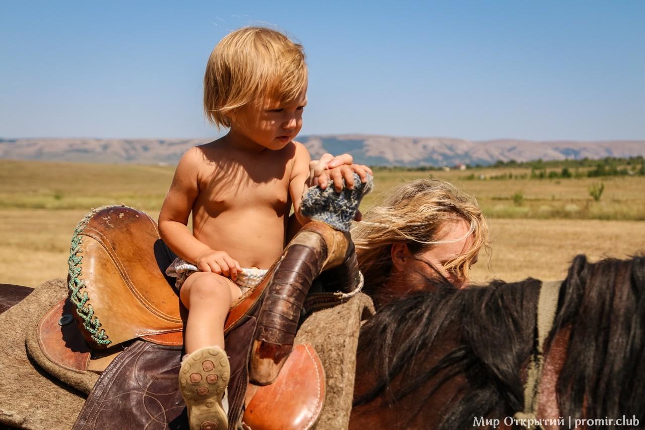Катание на лошадях, Краснолесье