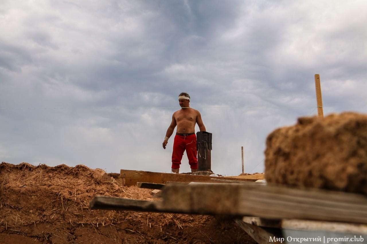 Саманное строительство, Краснолесье