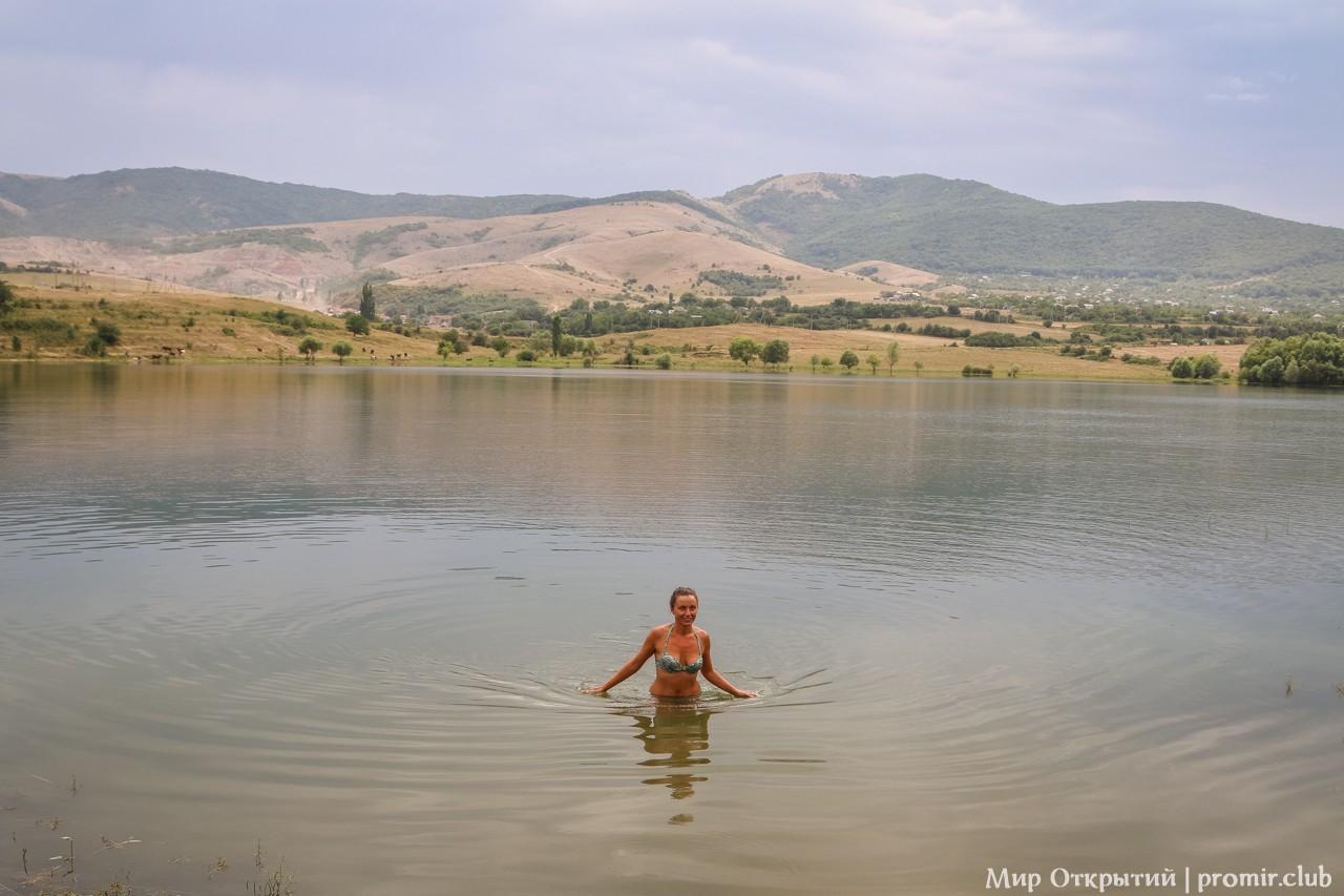 Практики у озера, Краснолесье