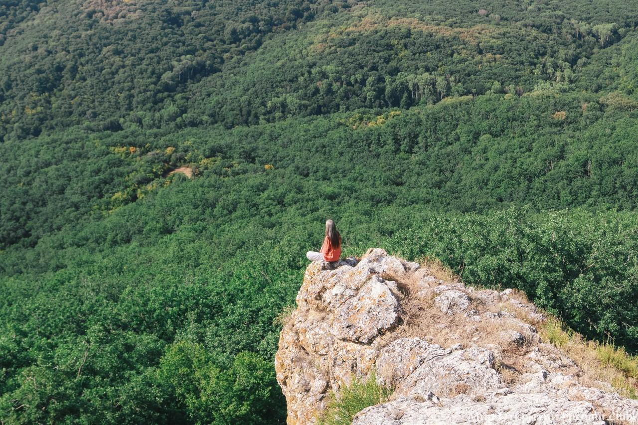 На горе, Краснолесье