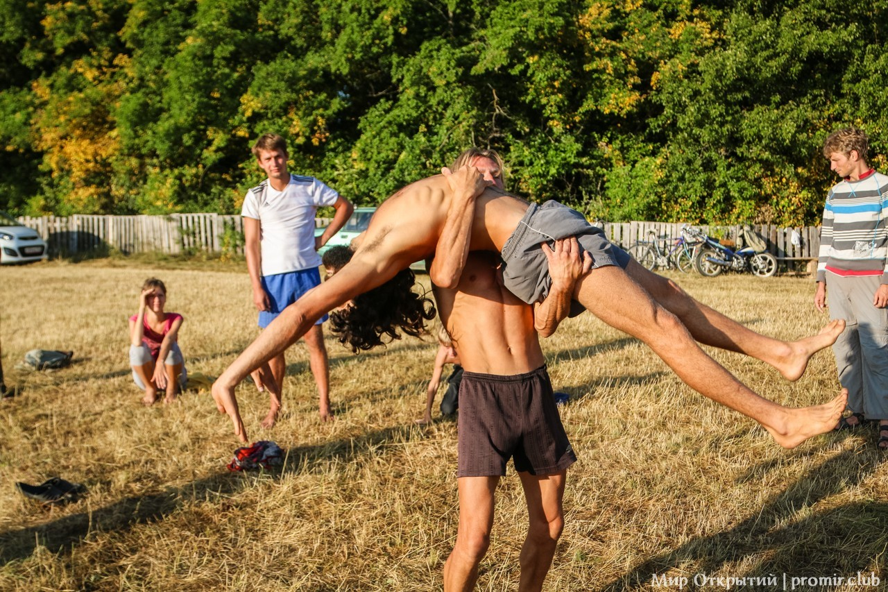 Утренняя гимнастика, Краснолесье