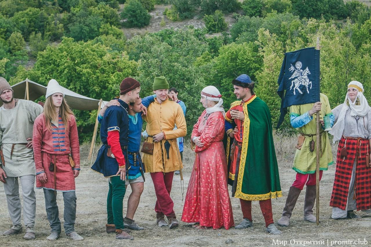 Крымский Военно-исторический фестиваль, Федюхины высоты