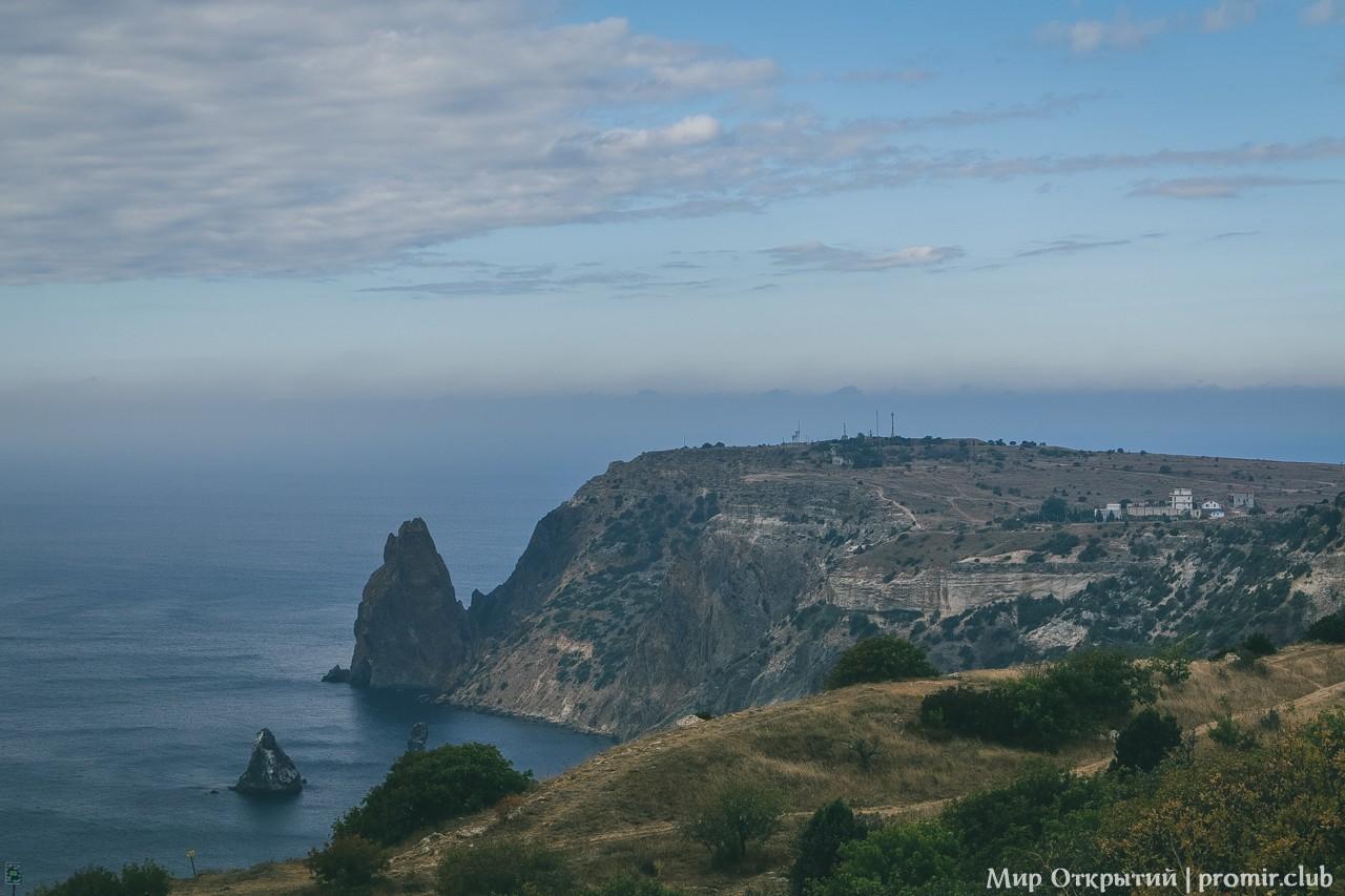 Панорама на побережье, Мыс Фиолент