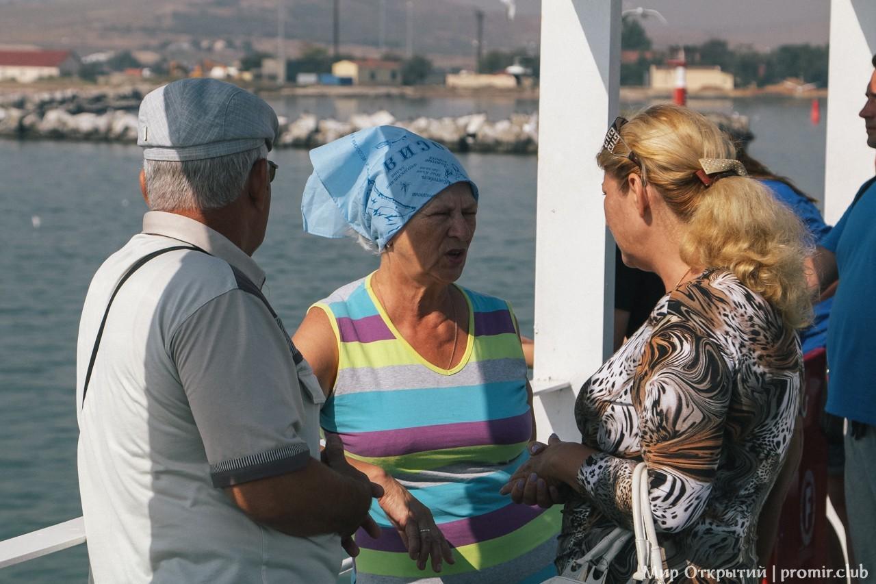 Паромная переправа, Керченский пролив