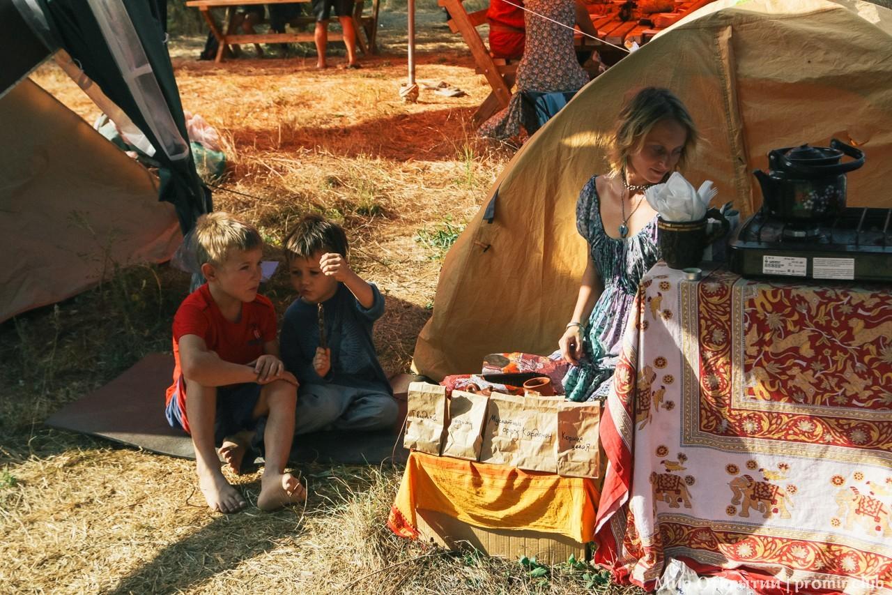 Ярмарка на фестивале, Краснодарский край