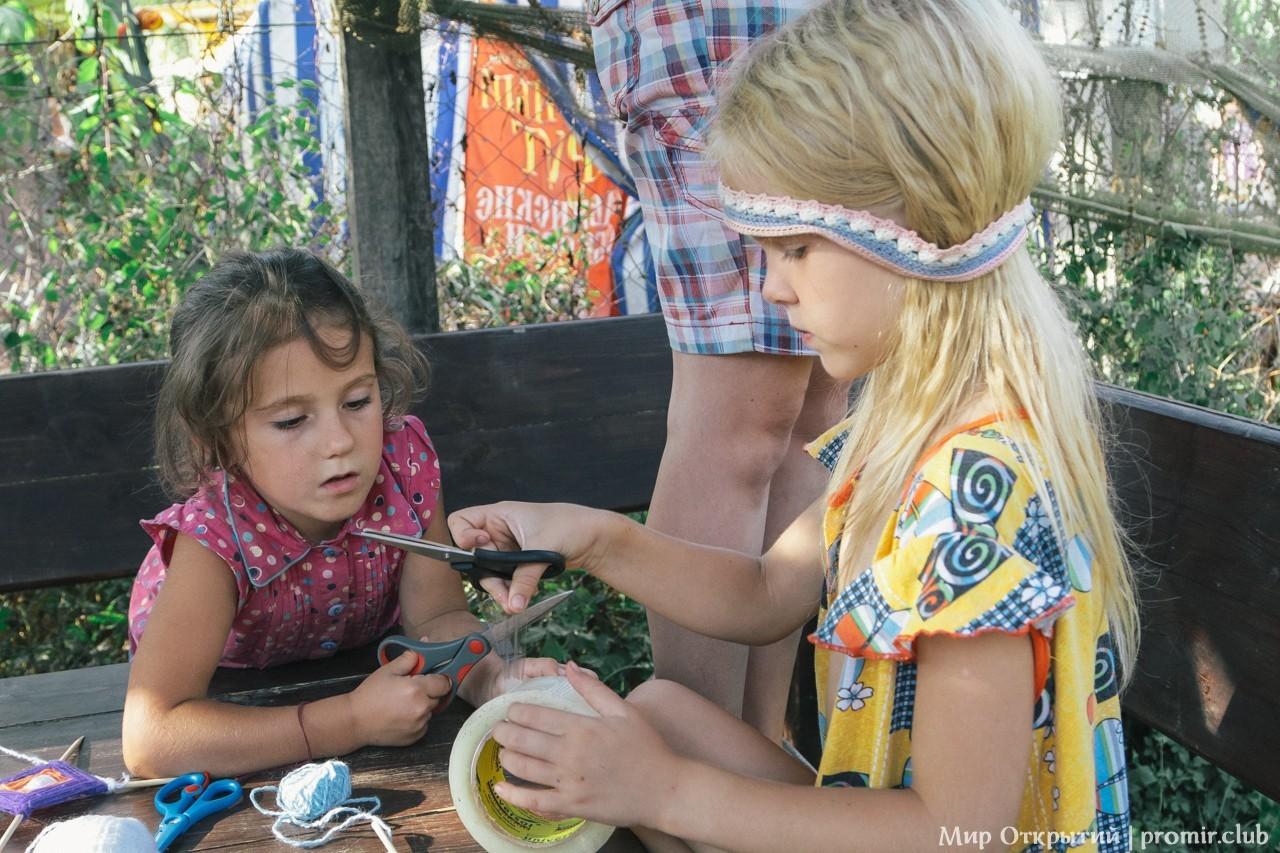 Дети на фестивале, Краснодарский край