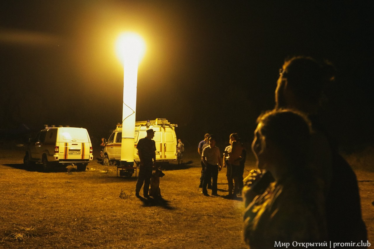 Светящийся столб, Краснодарский край