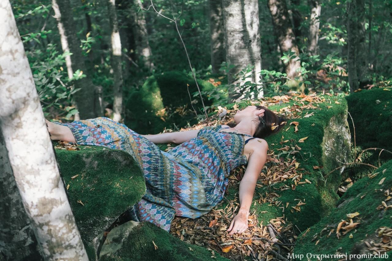 Прогулка по Волшебному лесу, Краснодарский край