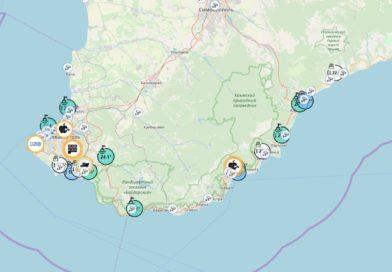Температура воды в Черном море сейчас. Онлайн карта по Крыму