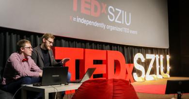 TEDx SZIU конференция на площадке Ленфильма